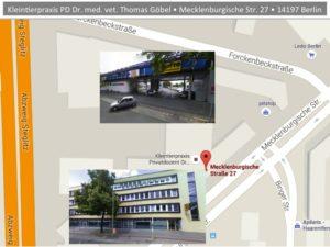 Parkplatz Praxis Dr. Thomas Göbel
