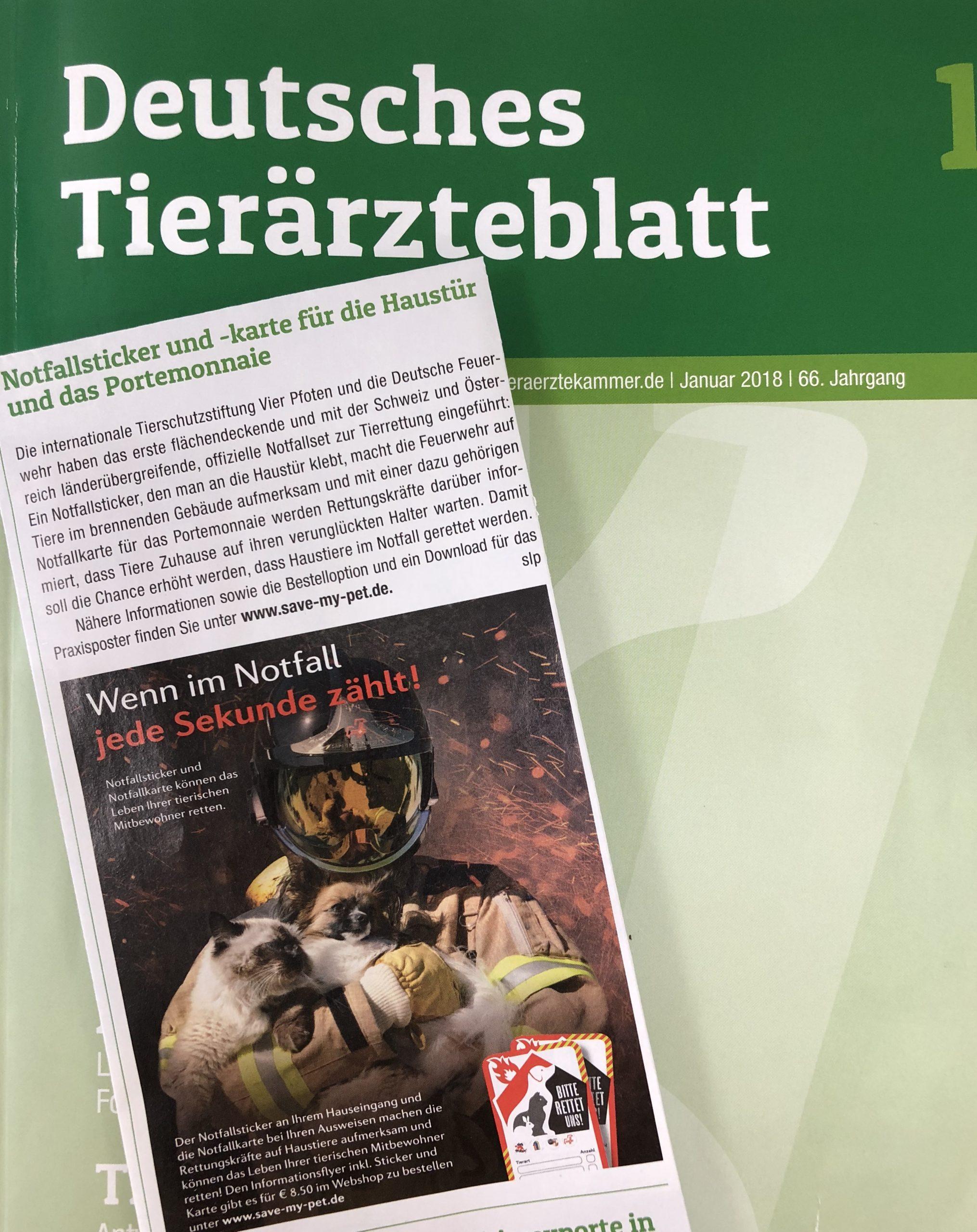 Deutsches Tierärzteblatt