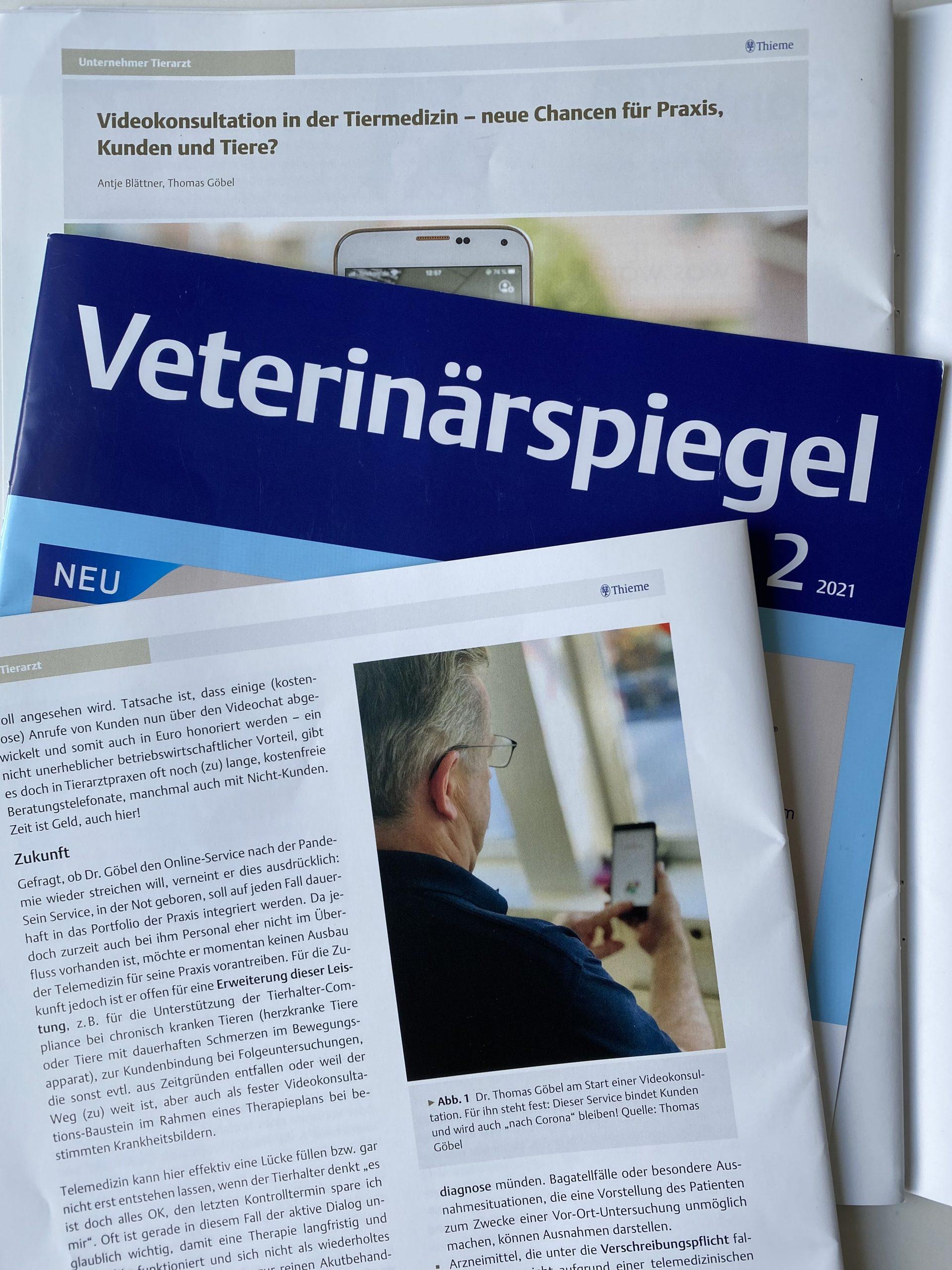 "Featured image for ""Videokonsultation in der Tiermedizin"""